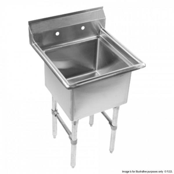 Stainless Steel Sink with Basin SKBEN01-1818N