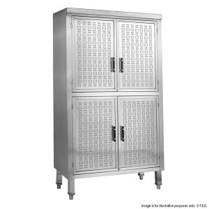 Upright Stainless Steel Storage Cabinet USC-6-1000