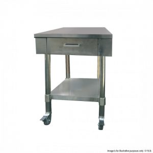 Work Bench One or Drawer and Undershelf 775mm Deep