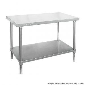 Stainless Steel kitchen Workbench 600mm Deep