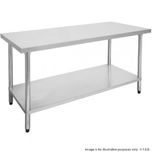 Economic 304 Grade Stainless Steel Tables 700 Deep